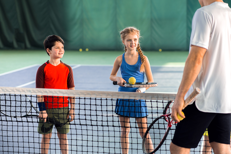 Tennis Lessons for Young Kids in Houston Texas