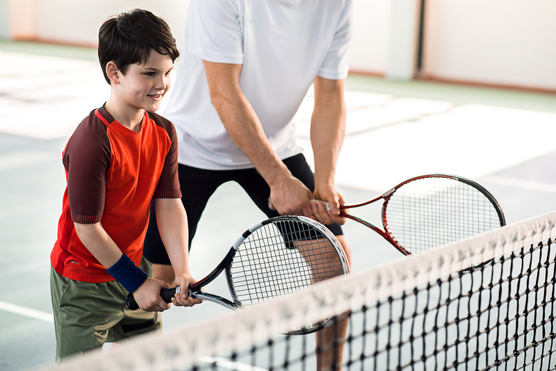 Tennis Lessons for Kids in Houston